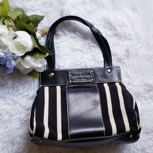 Kate Spade small cloth and leather purse!